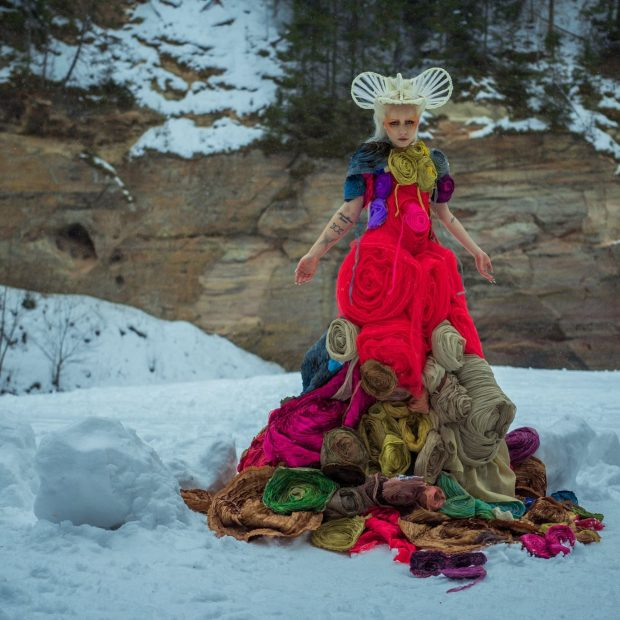 "Watch: Kerli – ""Blossom"" (The Halls of Heaven Session)"